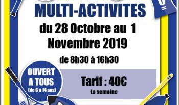 Stage Toussaint -Rugby Multi activités